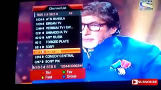 All HD,SD,FTA, and Scrambled Channels Of Dish TV Package And DD Free Dish @ 95° E Full Information.