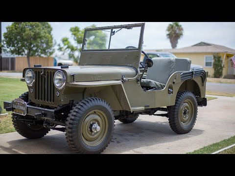 1946 Willys CJ2A Universal Jeep - YouTube