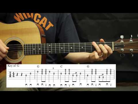 In The Sweet By and By - Guitar Lesson - Carter Style