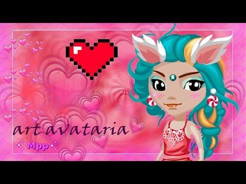 Арт по игре Аватария (мышкой) для Chibi_Tyan