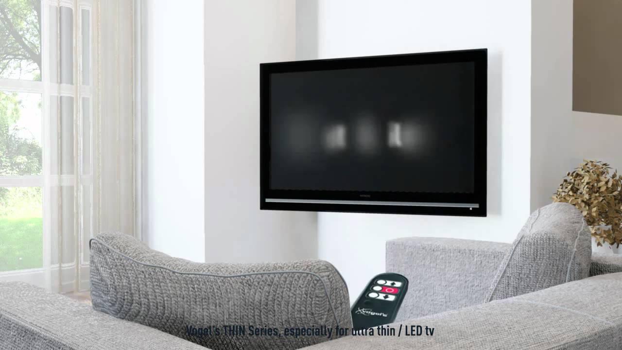 Elektrischer LCD LED Wandhalter THIN RC355