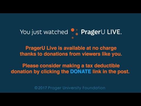 PragerU Live: Stephen Miller (6/13/17)