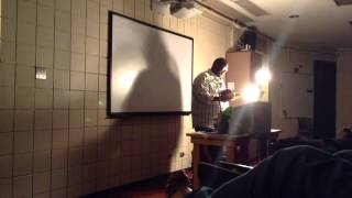 Fred Moten reading at DU 10/7/14