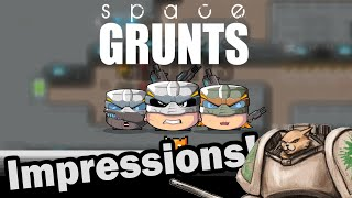 Space Grunts Alpha Review / Impressions - Weekly Indie Newcomer