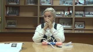 Майя Ильинишна Локшина, мастерица по вязанию обережных узлов 29 10 2015 ч1