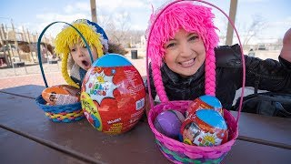 Hunt for Surprise Eggs in the Playground S4:E42