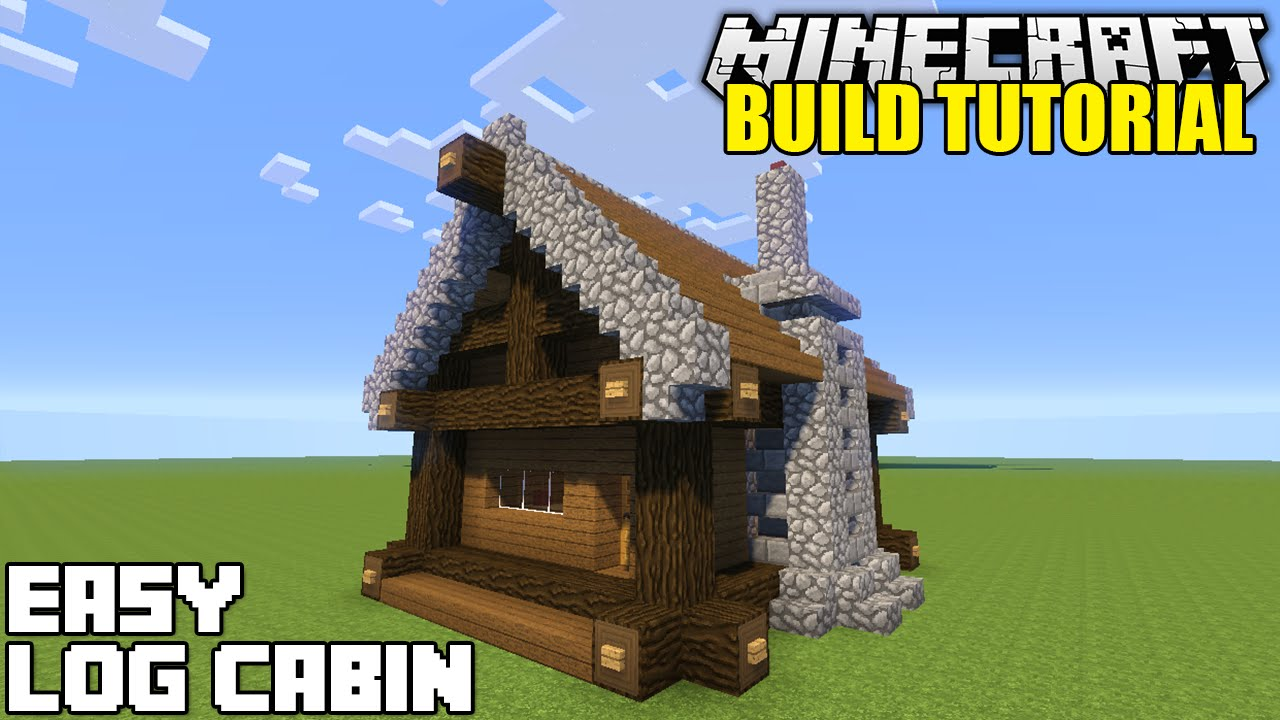 Easy Build Log Cabins