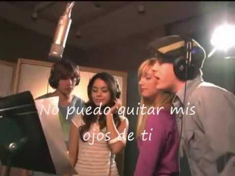 I CAN'T TAKE MY EYES OFF  YOU-HIGH SCHOOL MUSICAL (EN ESPAÑOL)
