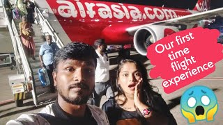 A Couple's First Flight Vlog In Tamil | Chennai To Goa Trip | Goa Diaries | Rj Vlogs-domestic Flight