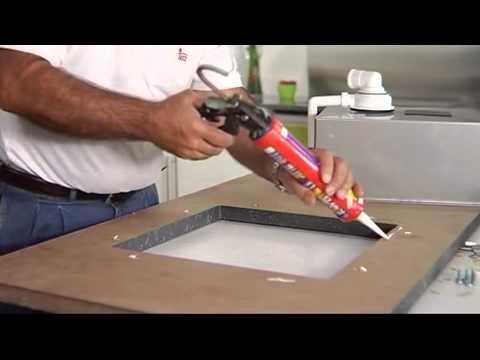 Instalar fregadero de submontar teka for Instalar fregadero