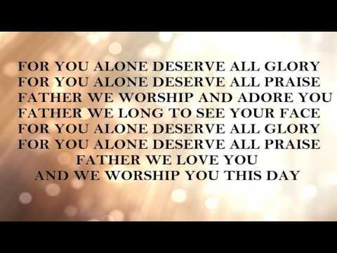 DON HARRIS  - For You Alone (Lyrics)