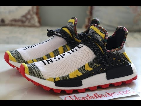 a9118d145ae65 Pharrell x Adidas HU NMD Solar Afro Pack Yellow BB9527 Close Review ...