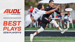 Top Plays from the 2019 Playoffs   AUDL Highlights