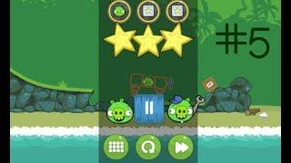 ЭНГРИ БЕРДЗ ПЛОХИЕ СВИНКИ Angry Birds Bad Piggies, игра 5, ОТКРЫЛСЯ БОНУСНЫЙ УРОВЕНЬ