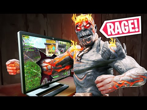 KID BREAKS MONITOR From RAGE!! - Fortnite Funny WTF Fails and Daily Best Moments Ep. 909