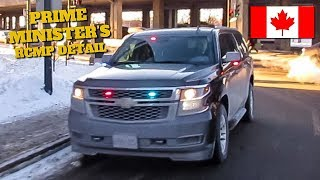 Montréal | *RARE* Very Brief Look at an Unmarked RCMP Protective Policing Service SUV