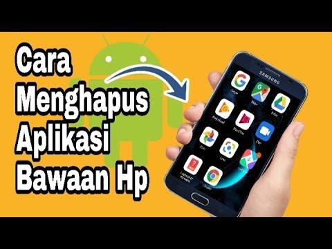 Cara hapus file atau aplikasi bawaan handphone Android yang menjadi akar masalah handphone ram kecil.