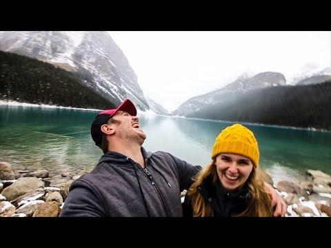 Look At These ROCKY MOUNTAINS ! | Canadian RV Voyage (E.3)