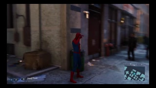 Spiderman Gameplay 1