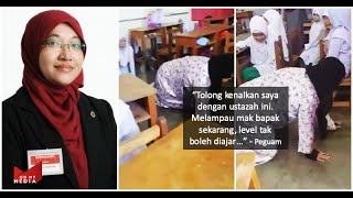 #KacoKite Ustazah Di Hukum Merangkak Oleh Ibu Pelajar | Peguam Tawar Khidmat Saman Ibu Tersebut