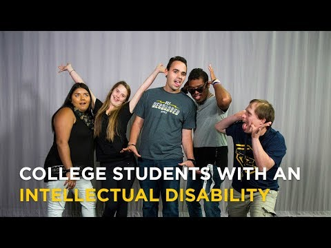 Students with an Intellectual Disability Share Their College Experience