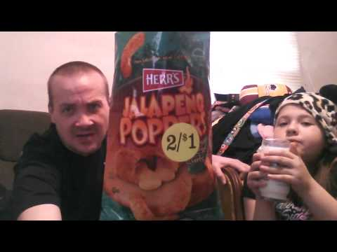 TASTE TEST - Herr's Jalapeno Poppers Cheese Puffs (With Mini Freeze)