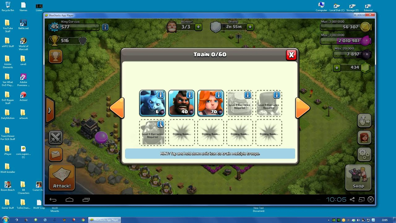 how to use bluestacks in windows 10