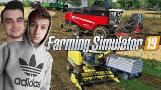 Farming Simulator 19☆Odwiedziłem Sąsiada & Żniwa Soij  #30