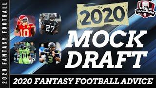 Fantasy Football Mock Draft - 2020 Mock Draft with Player Analysis - Risk vs. Reward