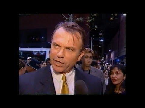 Sam Neill at Australian premiere of JURASSIC PARK III