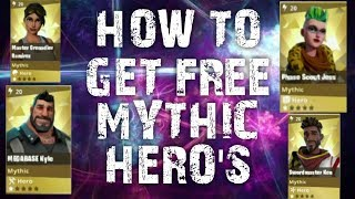 HOW TO GET FREE MYTHIC HERO FORTNITE SAVE THE WORLD