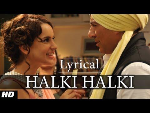 Halki Halki I Love New Year Full Song with Lyrics Ft. Sunny Deol, Kangana Ranaut