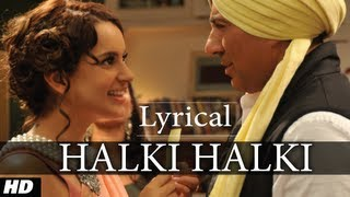 Halki Halki I Love New Year Full Song with Lyrics Ft. Sunny Deol, Kangana Ranaut