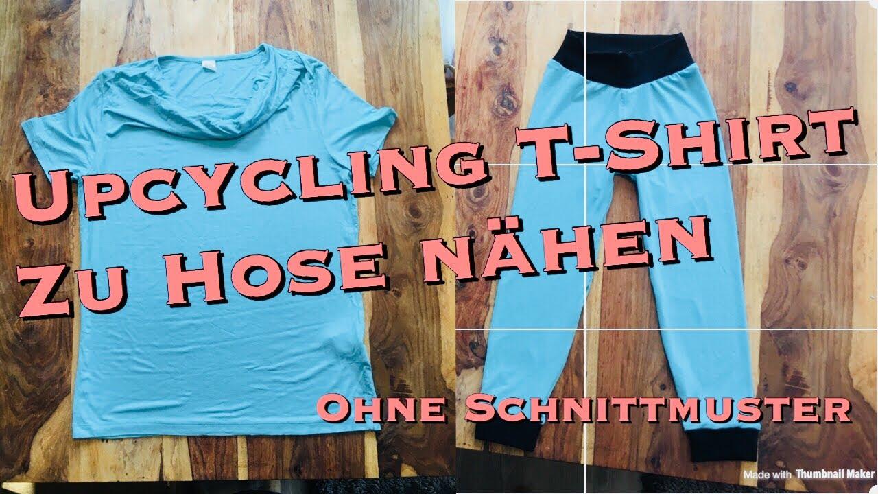 Upcycling Kleidung Idee Kinderhose Aus T Shirt Nähen Ohne