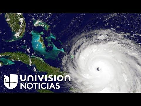 Como un huracán de categoría 4 llegaría Irma al sur de Florida en la madrugada del domingo