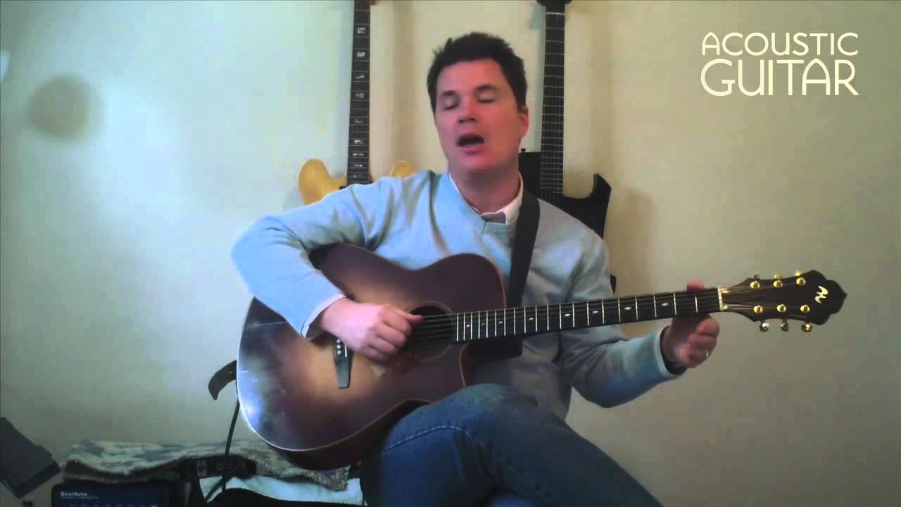 open string chords lesson from acoustic guitar youtube. Black Bedroom Furniture Sets. Home Design Ideas