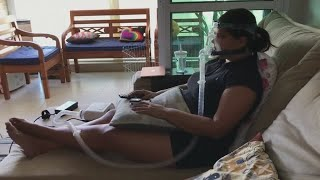 Brazilian respiratory therapist becomes a patient