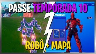 BATTLE PASS SEASON 10 AND MAP CHANGES! FORTNITE