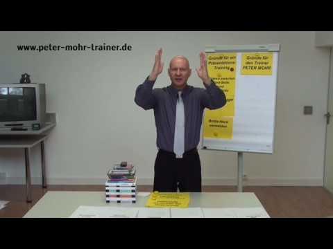 Wieso Sie ein Präsentationstraining bei dem Präsentationstrainer PETER MOHR besuchen sollten