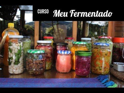 comida fermentada en el estomago