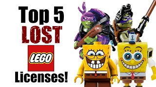 Top 5 Lost LEGO Licenses!
