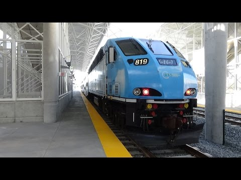 Tri-rail Miami Airport Station 2015 Opening Day