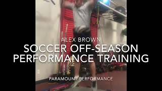 Soccer Offseason Performance Training