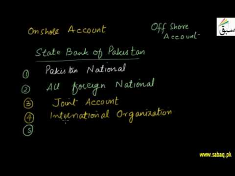 Foreign Currency Accounts, Math Lecture | Sabaq.pk |