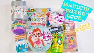 Random And Mixed Loot Opening Surprise Blind Bag Toys Unboxing #66 H5Kids