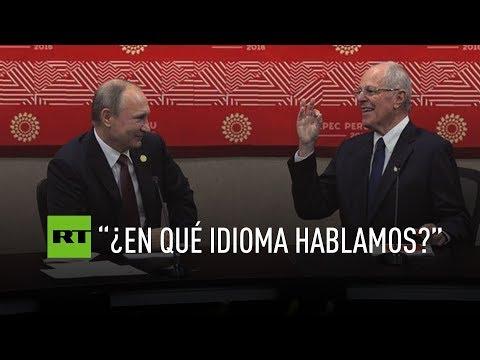 Putin y Kuczynski