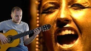 ZOMBIE на гитаре Фингерстайл + табы