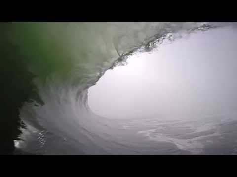 The Longest Gopro Barrel Ever - Namibia (Lost4Words)