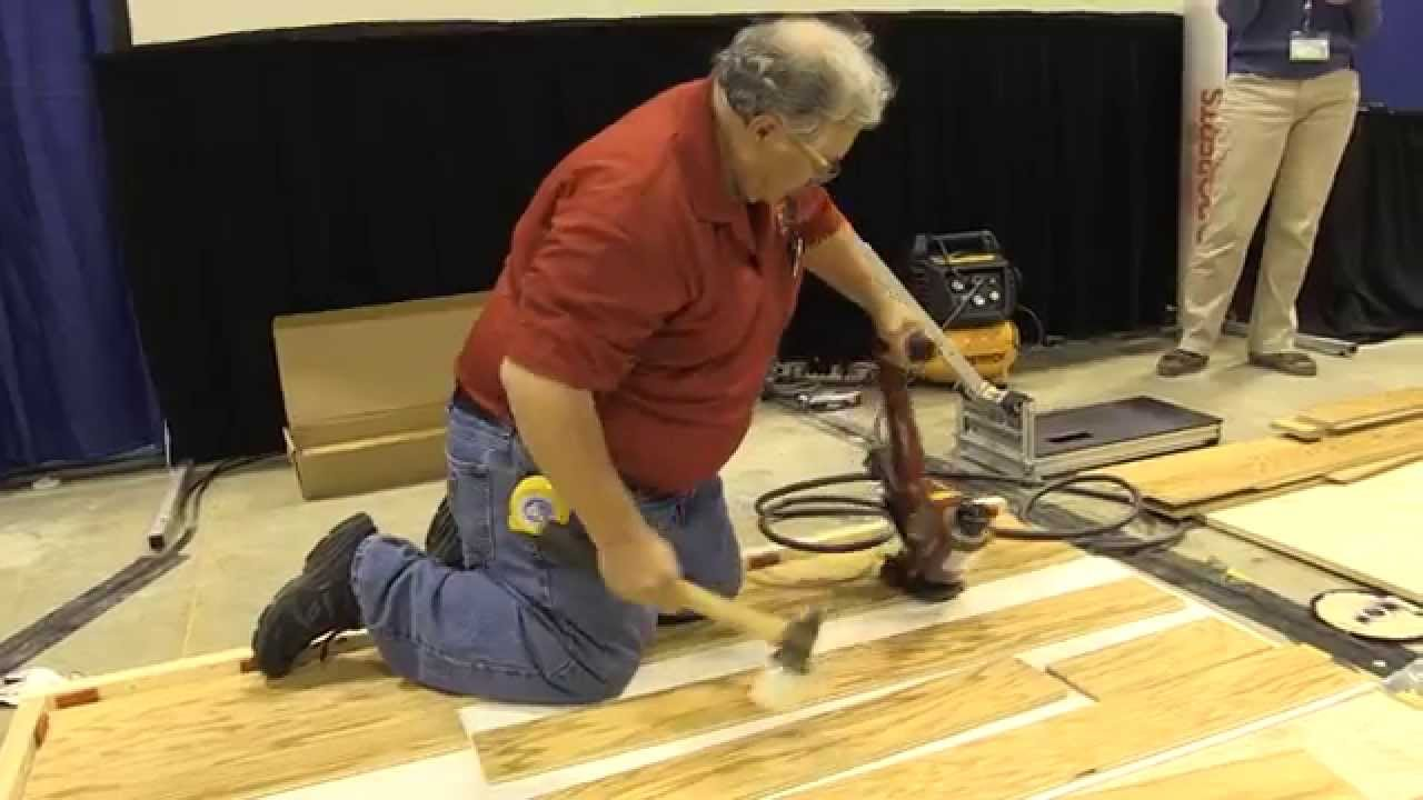 Harris Wood Ergonomics In Flooring Demonstration (Sponsored)
