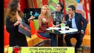 Speed Dating 10en8 - Parte 3 En Desayuno Americano con Pamela David y Diego Perez - Parte 3